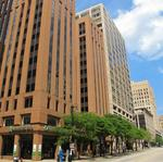 First Financial Centre office at Water and Wisconsin up for auction