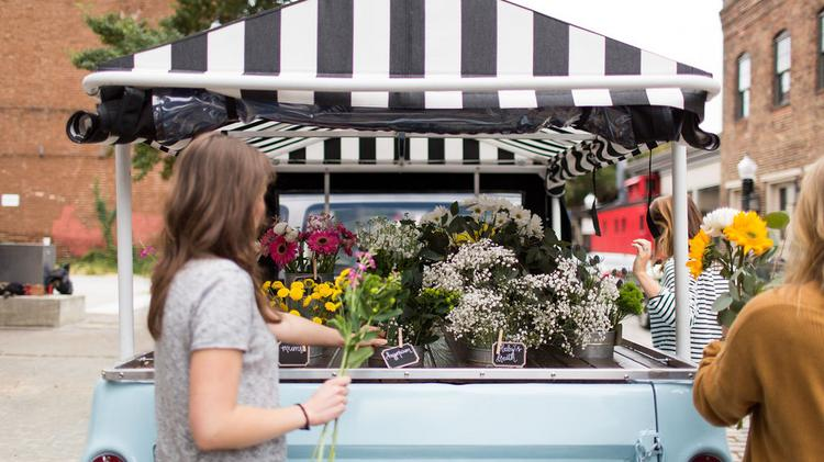Wild Honey Flower Truck Opens In Pop Up Locations Around The