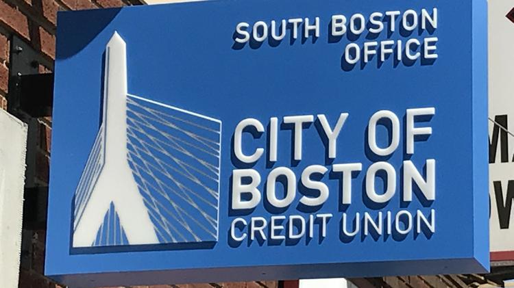A City of Boston Credit Union branch in South Boston.