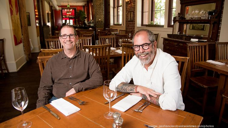 Executive Chefs And Owners Steven Left Mitchell Rosenthal