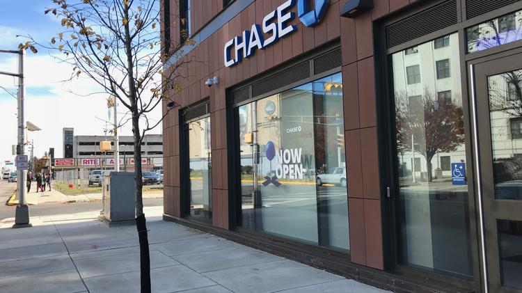 Chase proposes four new locations for local branches, including