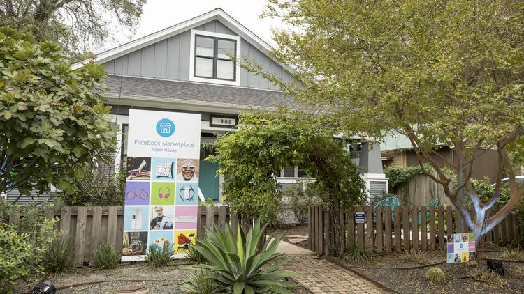 Facebook takes over East Austin home to showcase Craigslist