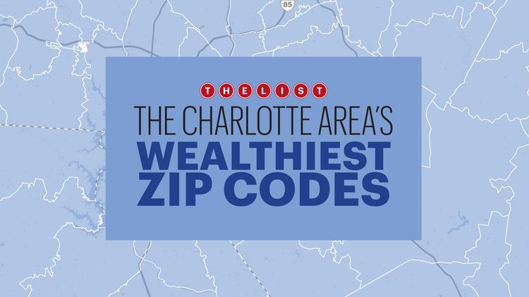 Charlotte Zip Code Map Printable.Charlotte Home To North Carolina S Priciest Neighborhood