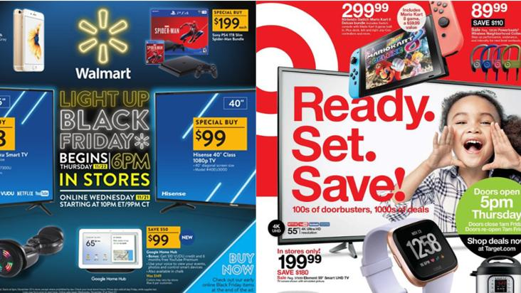 What Target And Walmart S Black Friday Ads Say About Their Holiday Strategy Bizwomen