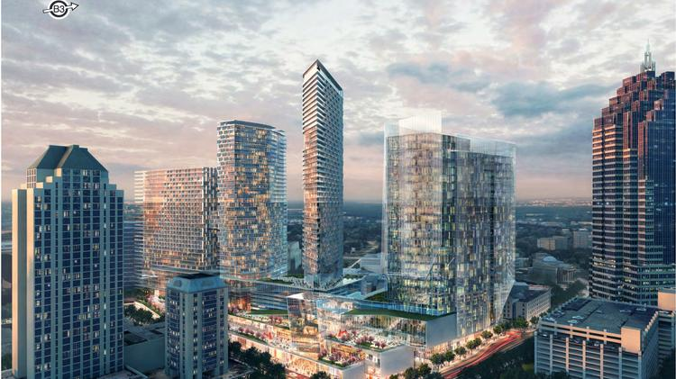 How Amazon Could Have Changed The Atlanta Skyline Renderings