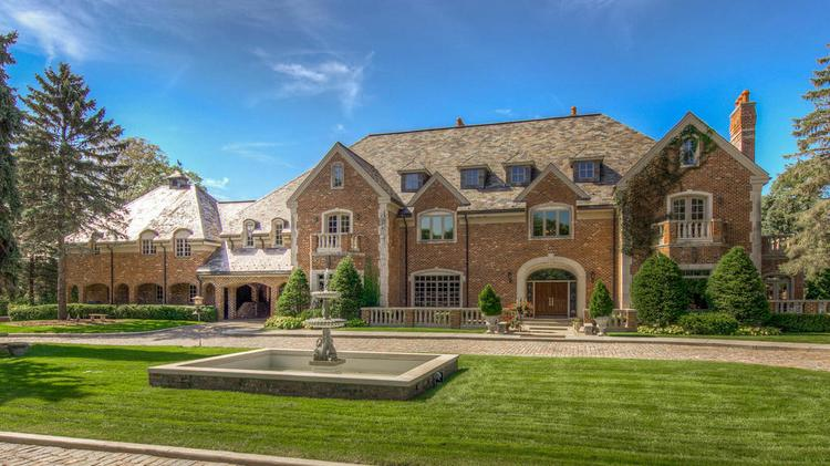 dream homes hawks nest castle on lake minnetonka listed for 10
