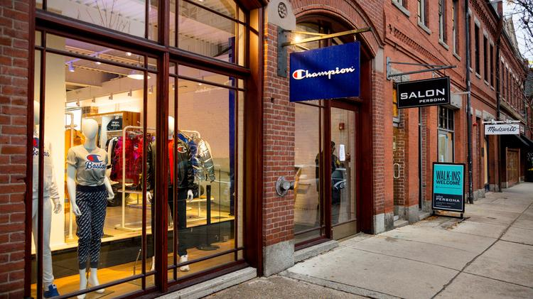 0130e3551f Athletic gear maker Champion Athleticwear is opening its fourth U.S. store  at 333 Newbury St.