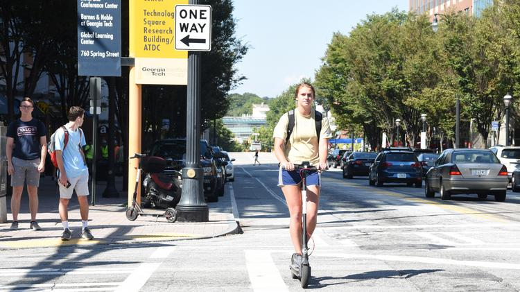 Scooter companies Bird, Lime object to some Atlanta