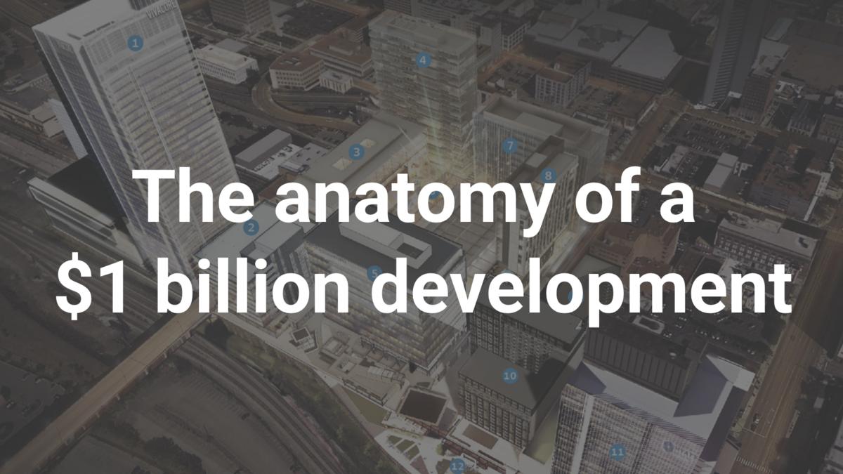 The anatomy of a $1 billion development. - Nashville Business Journal