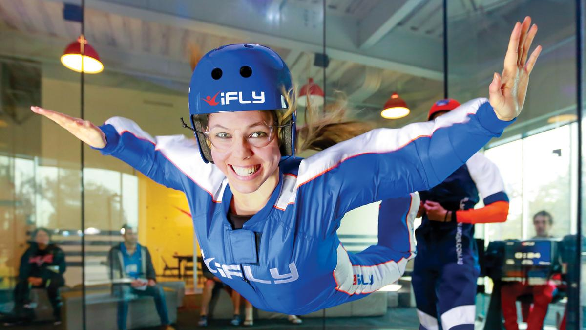 IFly Opens In Liberty Township
