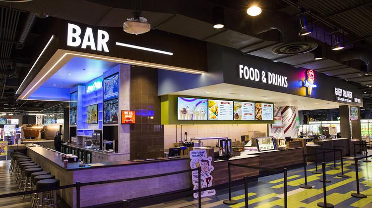 Round1 Bowling Arcade Venue Opening At Towson Town Center