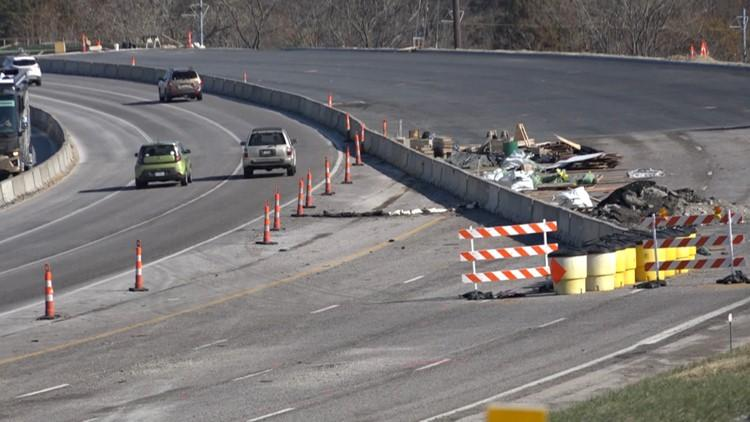 All lanes of I-44 to reopen Thursday in Shrewsbury