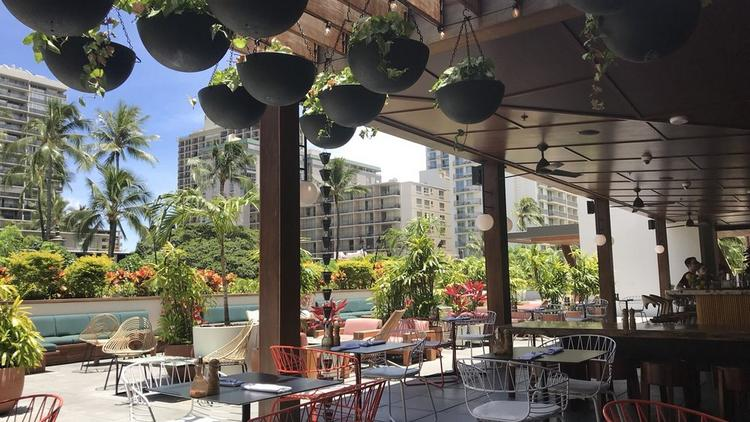 Hideout A Restaurant Located At The Laylow Hotel In Waikiki Is One Of Several