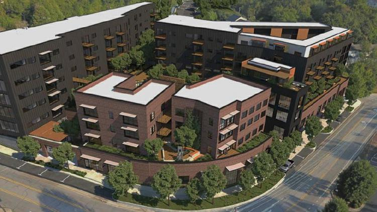 new 201 bed residential project proposed near the university of