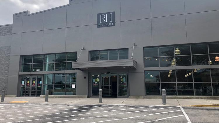 fascinating Restoration Hardware Clearance Outlet Part - 13: Restoration Hardware has opened RH Outlet in Clearwater in a former Babies  R Us.