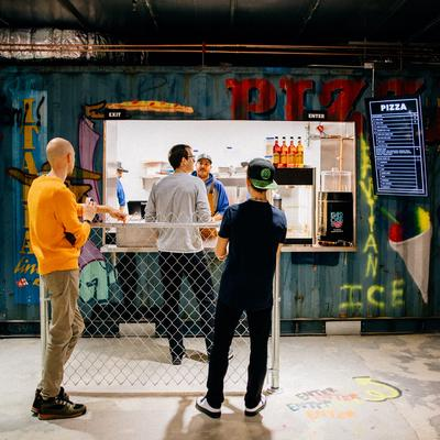 Hot Spots: Shipping container-themed restaurant Cargo Food Authority replaces Hubert's at Target Center - Minneapolis / St. Paul Business Journal