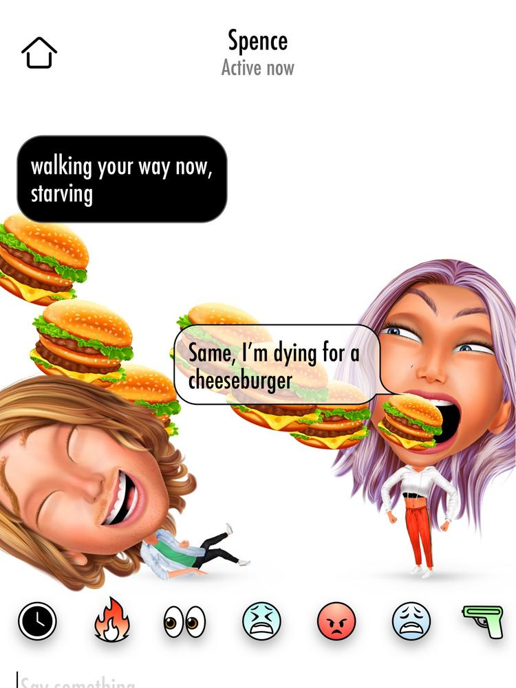 Bitmojis challenger Genies launches chat app - L A  Biz