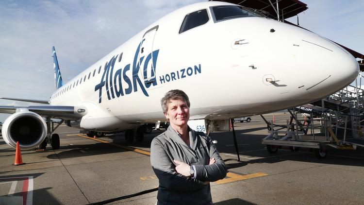 Horizon Air COO Constance von Muehlen's moved from Blackhawks to