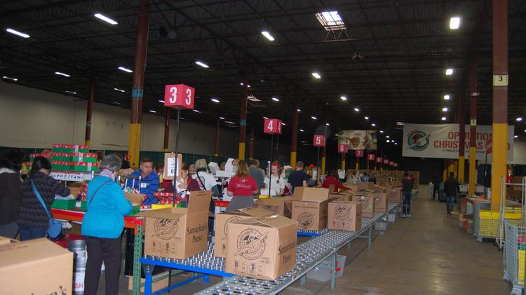 Christmas Charity Takes Space In Columbia For Pop Up Distribution Center