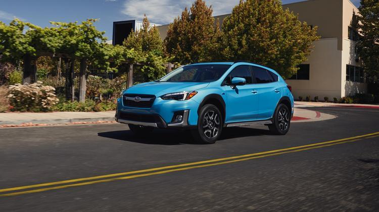 2019 Subaru Crosstrek Hybrid Debuts At The Los Angeles Auto Show Photos
