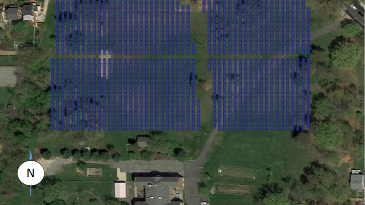 The Catholic Charities of the Archdiocese Washington submitted plans to build a huge solar array in Northeast.