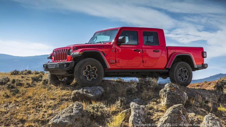 Automotive Minute 2020 Jeep Gladiator Midsize Pickup Truck Enters The Ring Photos