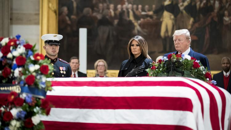 Former President George H W Bush S Funerals To Be Held In D C