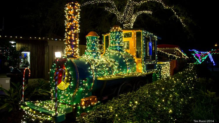 ZooLights returns at the Jacksonville Zoo and Gardens on Dec. 7 - Zoo Lights Returns At The Jacksonville Zoo And Gardens This Week