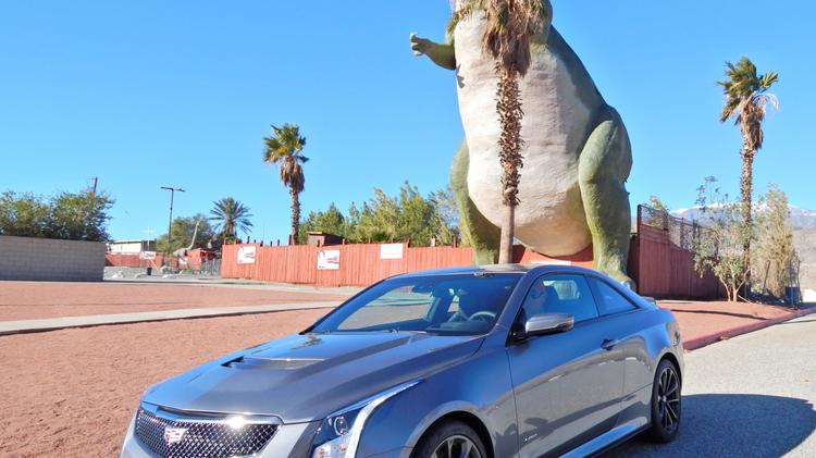 C Suite Rides A Sports Car A Luxury Car Cadillac Ats V Tries To