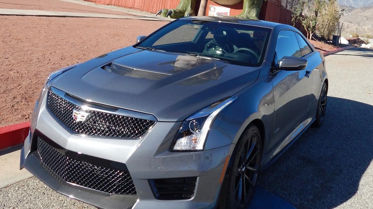 C Suite Rides A Sports Car A Luxury Car Cadillac Ats V Tries To Be Both Photos L A Biz