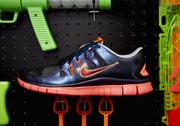 Jake Deering's Nike Free Run 5.0 design.