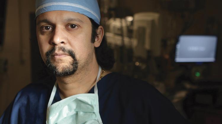 Dr  Amit Tevar, UPMC transplant doctor, welcomes