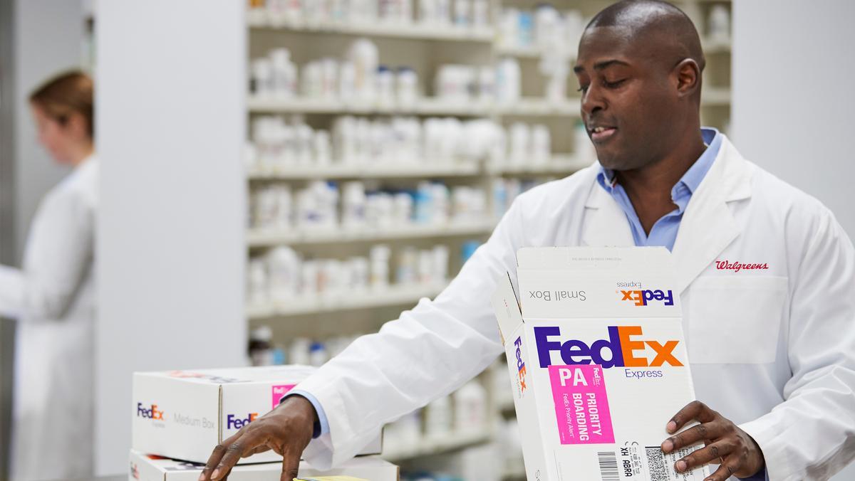 Walgreens partners with FedEx - L.A. Biz
