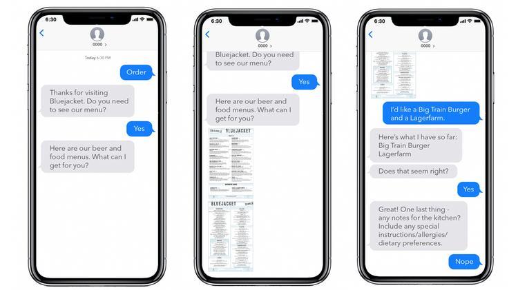 Jetsense Ai S Text To Order Philadelphia Business Journal