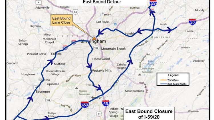 20/59 bridges to close in Jan  - Birmingham Business Journal