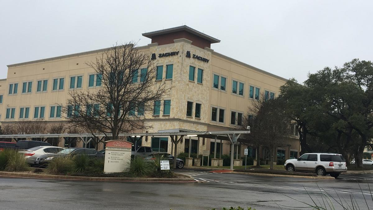 Griffin Partners Buys Zachry Hq San Antonio Business Journal