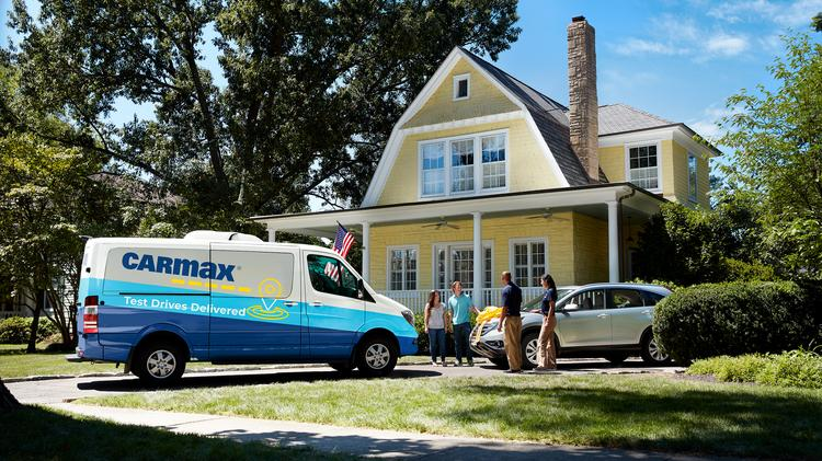 Carmax Said Customers Can Now Have Their Vehicle Delivered Directly To Home Or Work And