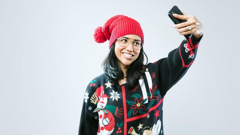 Christmas Cardigan Sweaters.Pillsbury Doughboy Ugly Christmas Sweater Is A Hit Bizwomen