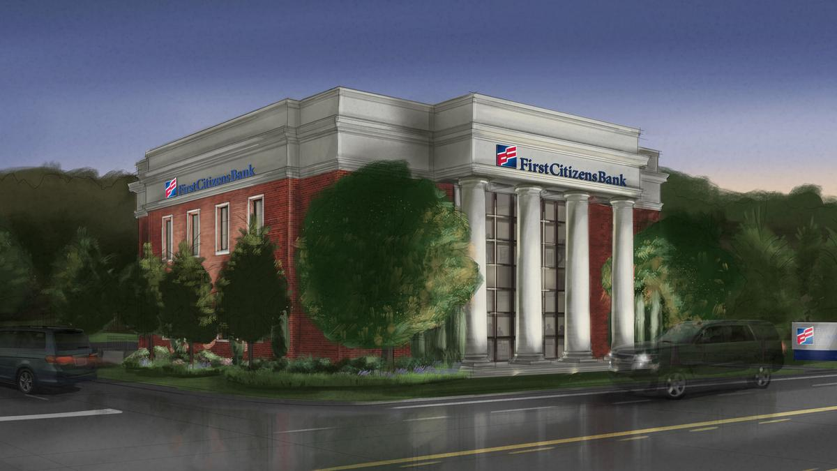 First Citizens Bank plans 2-story branch near RTP - Triangle Business Journal
