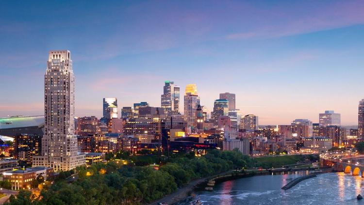 The Eleven condominium tower will be tallest residential building in Minneapolis.