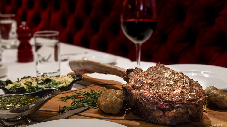 The Tomahawk Cut At Steakhouse No 316