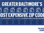 Greater Baltimore's Most Expensive ZIP Codes