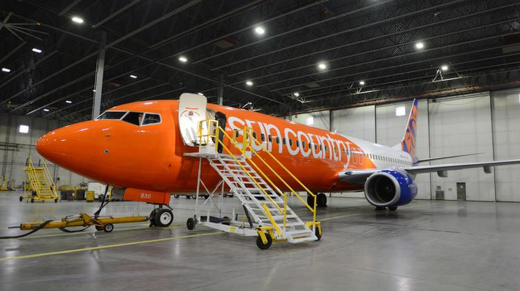 sun country airlines pdx