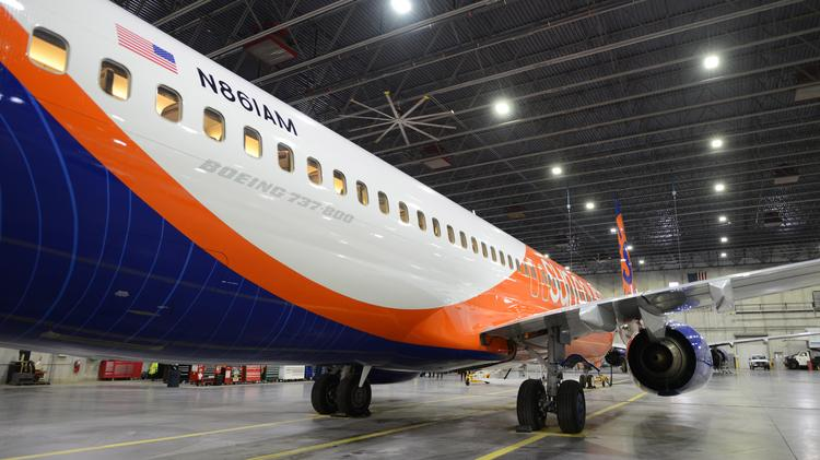 Sun Country shows off its new Boeing 737-800 (gallery