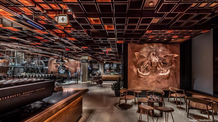 Starbucks New York Reserve Roastery Opens Friday Photos