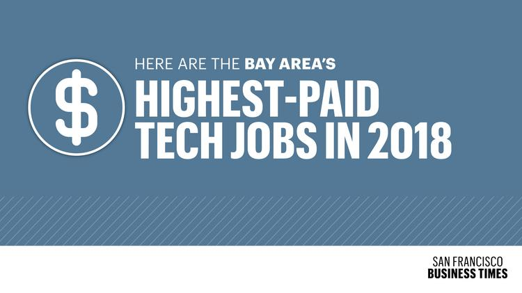 The 15 Highest Paying Bay Area Tech Jobs In 2018 San Francisco