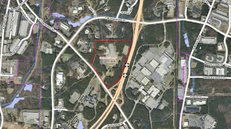 Ibm Rtp Campus Map.Charlotte Based The Keith Corporation Buys 105 Acres From