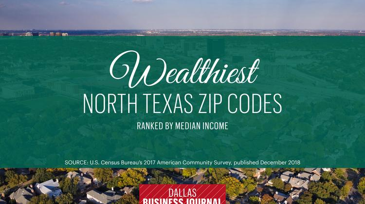 Southlake Tx Zip Code Map.These Are The Wealthiest Zip Codes In North Texas Dallas Business