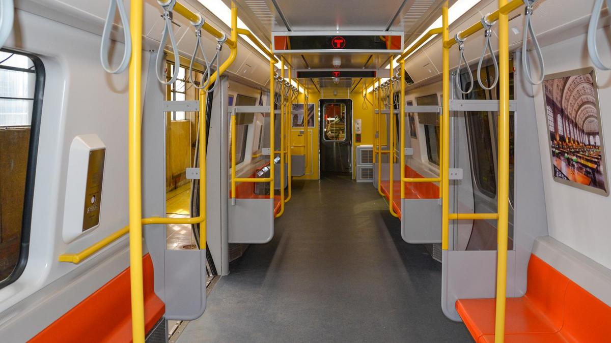 Mbta New Six Car Orange Line Set Will Be Ready This