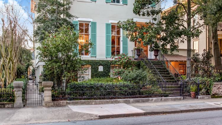 Income-producing historic mansion on Savannah's Forsyth Park listed on historic plantation houses, historic plantation homes in louisiana, historic plantation homes in texas, historic homes in alabama book, historic plantation homes in the south, old planation homes sale,